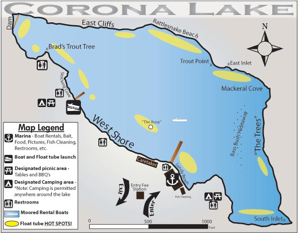 Corona lake for Corona lake fishing