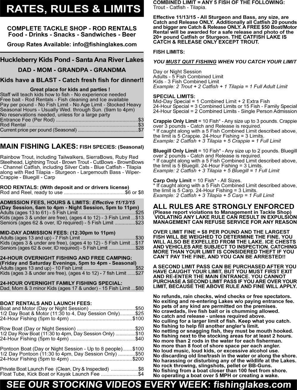 NEW - Lake Brochure New