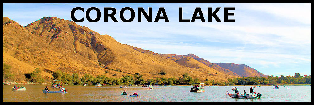 Locations for Corona lake fishing