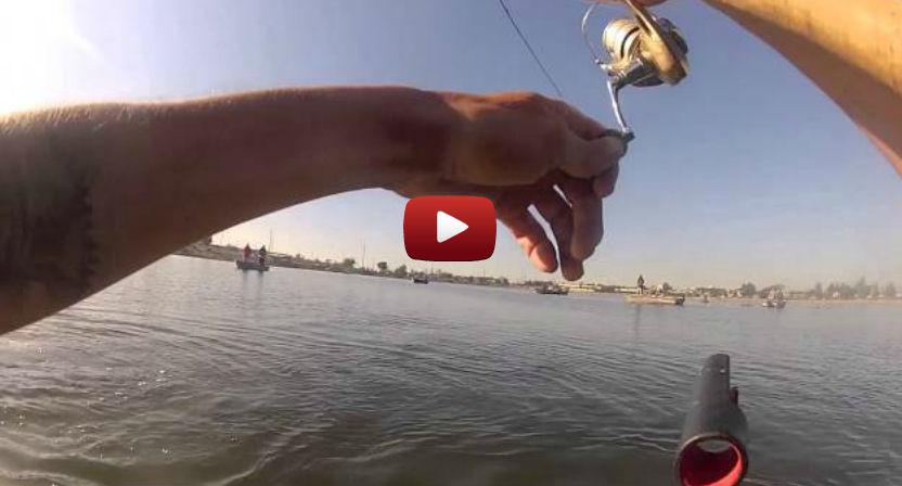 Fishing video stars float tubes page 2 for Santa ana river lakes fishing tips