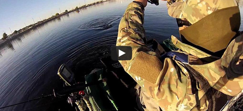 Fishing video stars float tubes fishinglakes