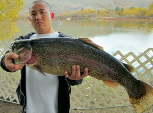 Trua Le - 14 pound trout !!