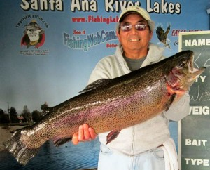 Bill with 19.8 lb trout !!