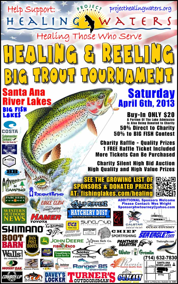 healing reeling trout big tournament project healing