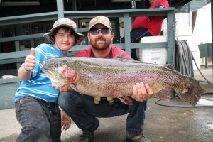Lightning trout tournament the biggest stocking of the for Davey s locker fishing report