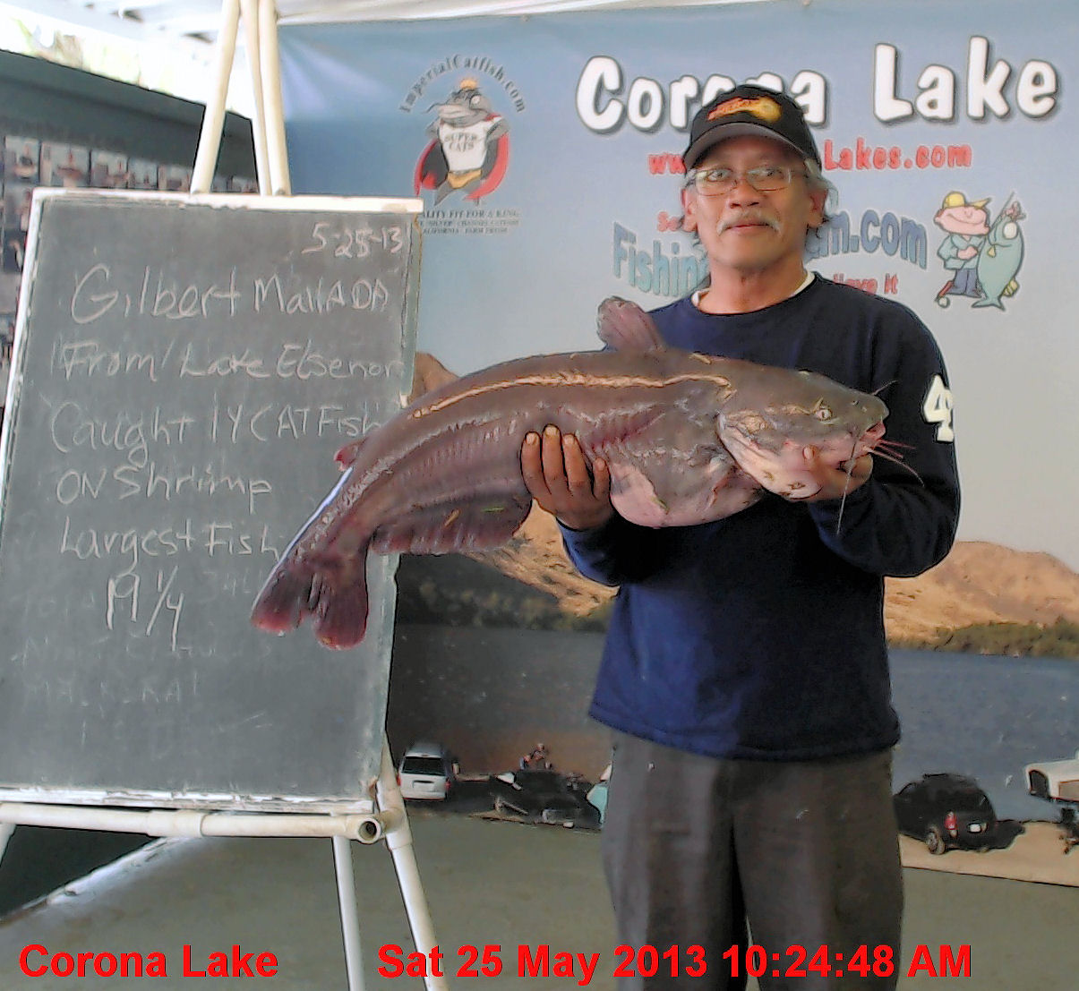 Current fish report 5 28 13 for Corona lake fishing