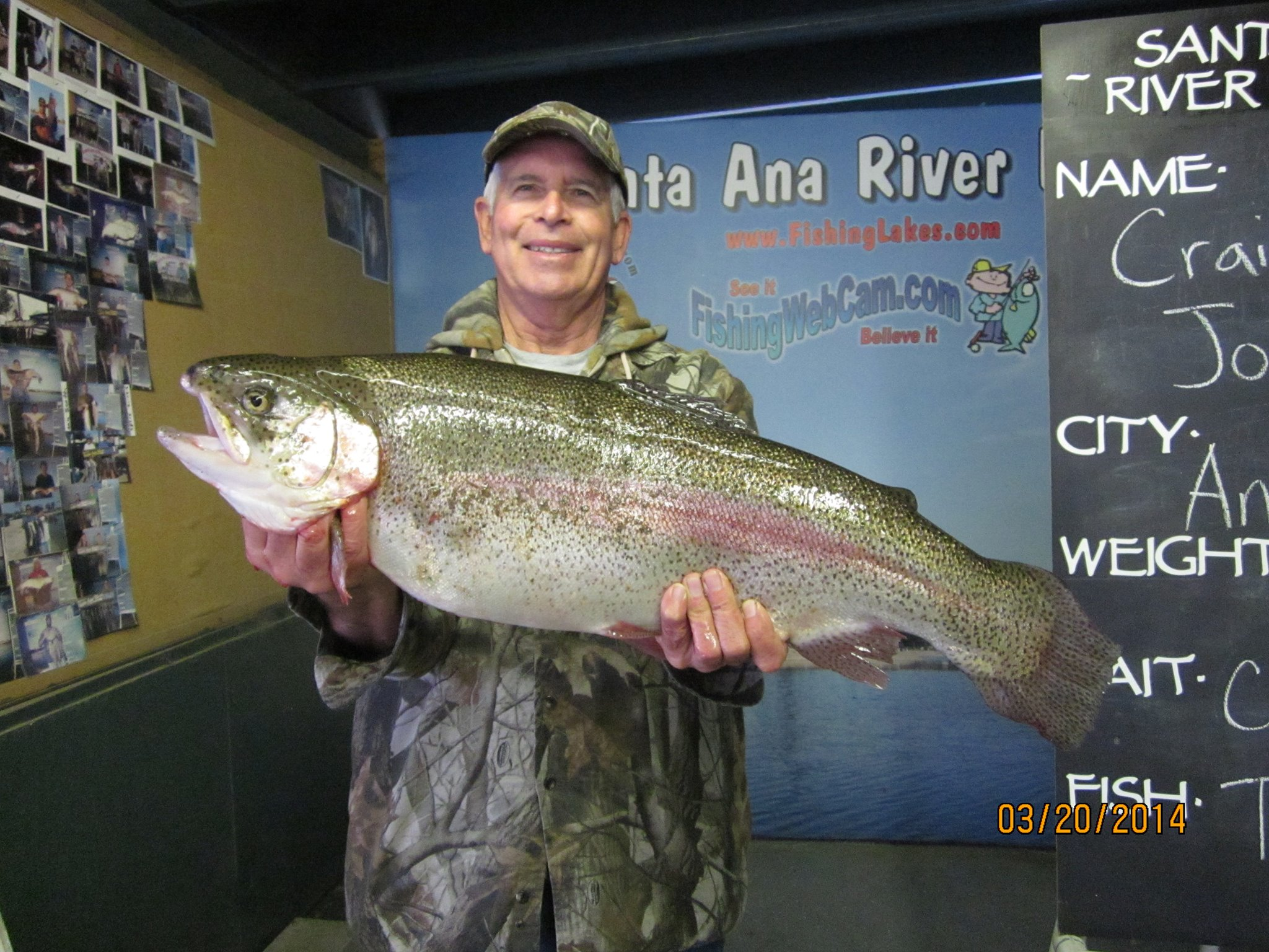 Corona lake fishing report 2014