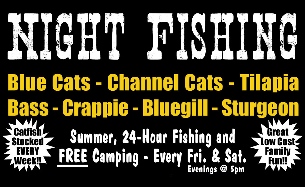 OVERNIGHT FISHING w/ FREE CAMPING !!