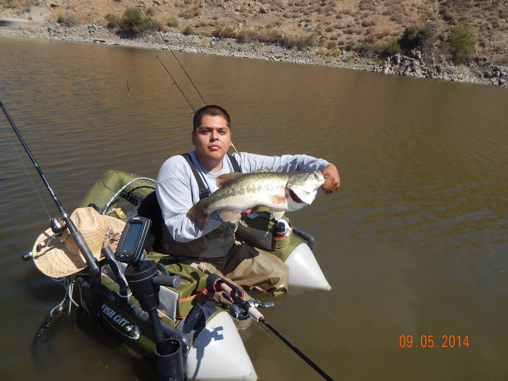 Current fish report 9 9 14 for Corona lake fishing