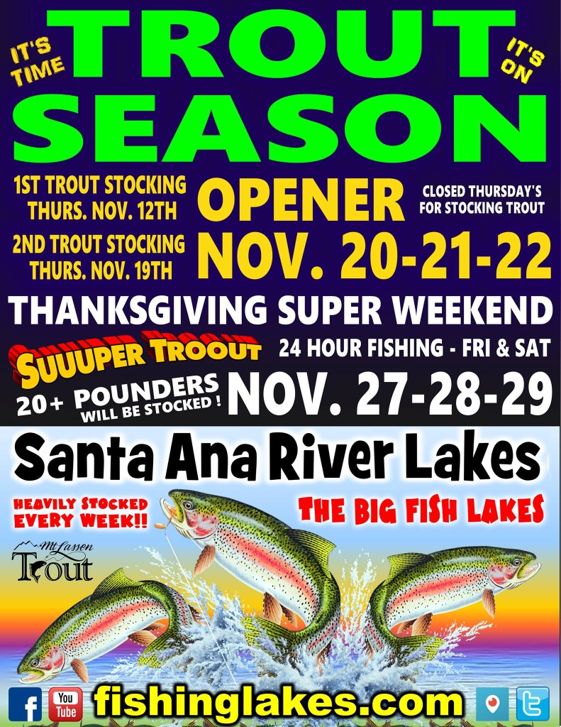 Promotion archive for Santa ana river lakes fishing tips