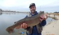 Jose Barba of Anaheim caught a 12 pound 4 ounce trout