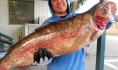 Jay Tids of Northridge caught a 18 pound 1 ounce trout